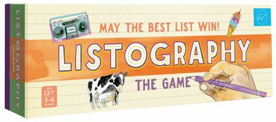 Listography: The Game: May the Best List Win!