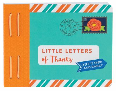 Little Letters of Thanks (Letters To My)