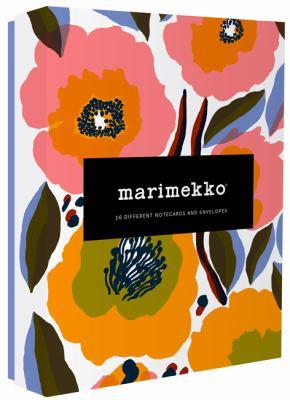 Marimekko Kukka Notecards: (Greeting Cards Featuring Scandinavian Design, Colorful Lifestyle Floral Stationery Collection)