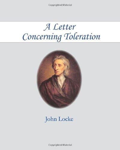 A Letter Concerning Toleration 9781453846414