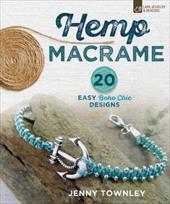 Hemp Macram: 20 Easy Boho Chic Designs 23022861