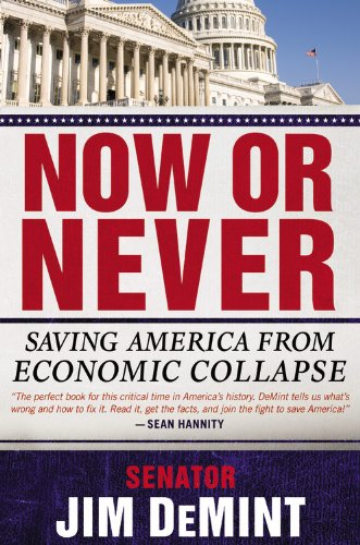 Now or Never: Saving America from Economic Collapse 9781455511846