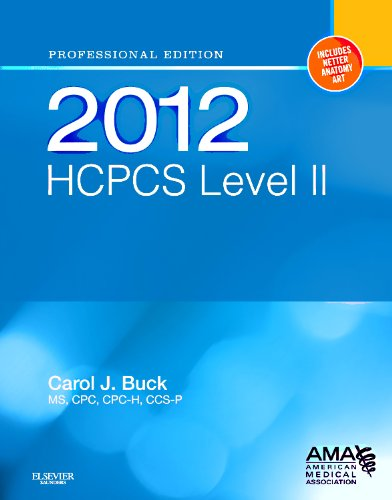 2012 HCPCS Level II Professional Edition 9781455707706