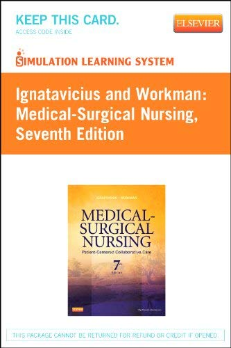 Simulation Learning System for Ignatavicius and Workman: Medical-Surgical Nursing (User Guide & Access Code Version) 9781455728084