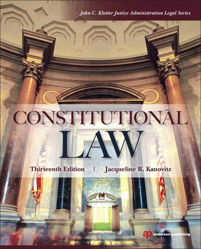 Constitutional Law 9781455730070