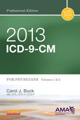 ICD-9-CM 2013 for Physicians Vol 1 & 2 Professional Edition, Compact 9781455745708