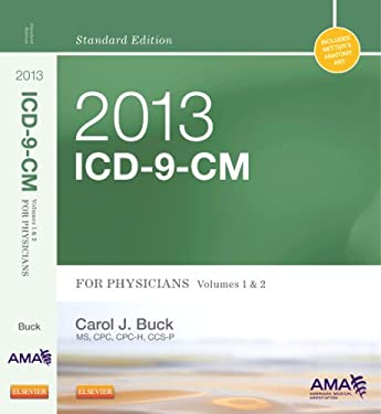 2013 ICD-9-CM for Physicians, Volumes 1 and 2, Standard Edition 9781455745739