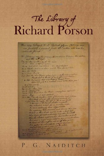 The Library of Richard Porson 9781456805289