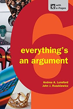 Everything's an Argument 9781457606069