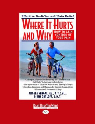 Where It Hurts and Why: How to Gain Control of Your Pain (Easyread Large Edition) 9781458763297