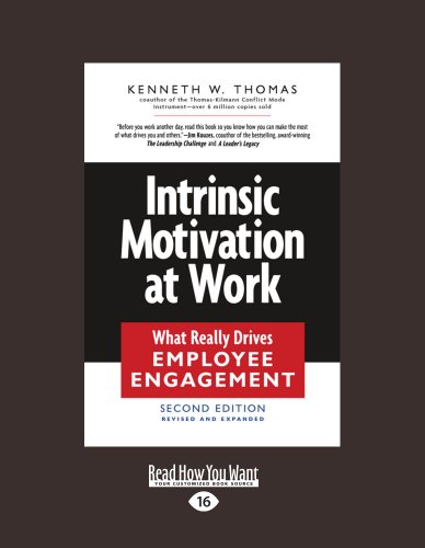 Intrinsic Motivation at Work: What Really Drives Employee Engagement (Large Print 16pt) 9781458777515