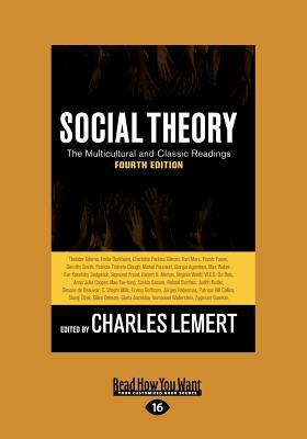Social Theory (Large Print 16pt) 9781458777966