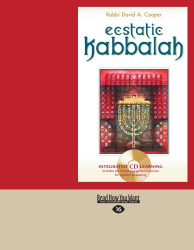 Ecstatic Kabbalah (Easyread Large Edition) 9781458785275