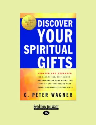 Discover Your Spiritual Gifts (Large Print 16pt) 9781459606913