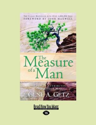 The Measure of a Man (Large Print 16pt) 9781459607040