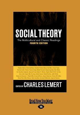 Social Theory (Large Print 16pt) 9781459614192