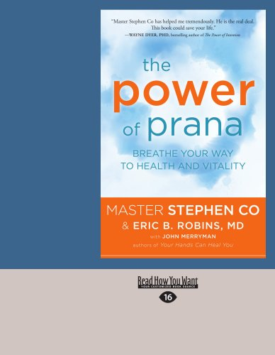 The Power of Prana: Breathe Your Way to Health and Vitality (Large Print 16pt) 9781459624122