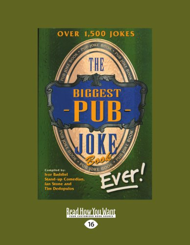 The Biggest Pub Joke Book Ever! 1 (Large Print 16pt) 9781459634978