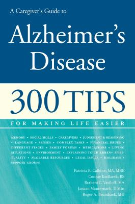 A Caregiver's Guide to Alzheimer's Disease (Large Print 16pt) 9781458757340
