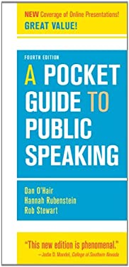 A Pocket Guide to Public Speaking 9781457601842