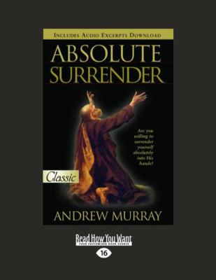 Absolute Surrender (Easyread Large Edition) 9781458762092