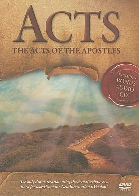 Acts: The Acts of the Apostles [With Bonus Audio CD] 9781450700559