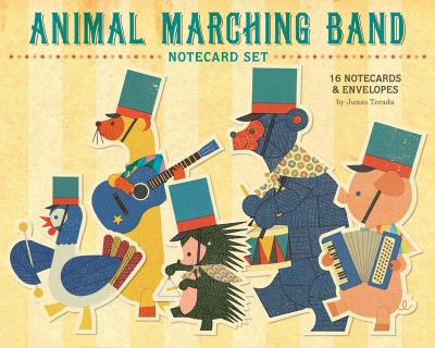 Animal Marching Band Notecard Set