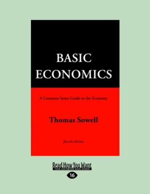 Basic Economics 4th Ed.Vol 1 (Large Print 16pt) 9781459610545