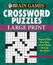 Brain Games: Crossword Puzzles (Large Print) 21124617