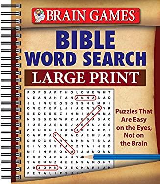Brain Games: Bible Word Search (Large Print)
