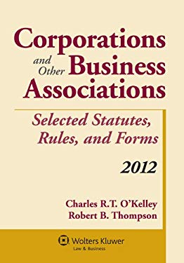 Corporations & Other Business Associations Select Stat 2012 Supp 9781454811084