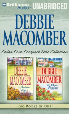 Debbie Macomber Cedar Cove CD Collection 3: 8 Sandpiper Way, 92 Pacific Boulevard 9781455800308
