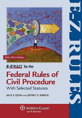 E-Z Rules for Federal Rules of Civil Procedure 9781454802501