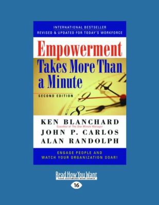 Empowerment Takes More Than a Minute 9781458777416