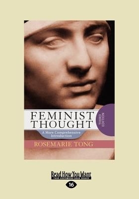 Feminist Thought (Large Print 16pt) 9781458781574