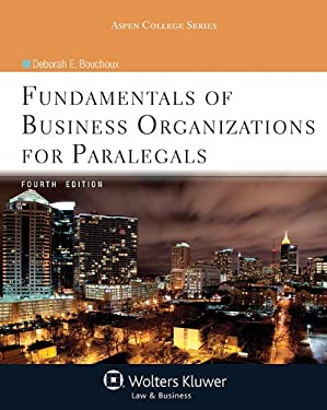 Fundamentals of Business Organizations for Paralegals 4e 9781454808695