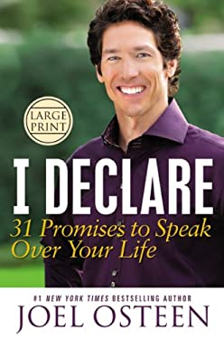 I Declare: 31 Promises to Speak Over Your Life 9781455522569