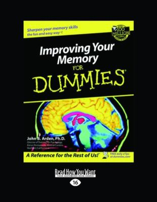 Improving Your Memory for Dummies (Large Print 16pt) 9781458736567