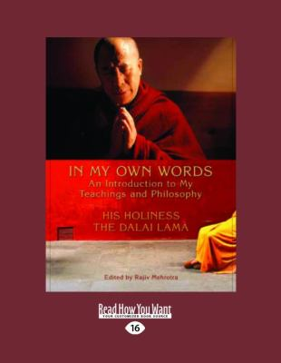 In My Own Words: An Introduction to My Teachings and Philosophy 9781458772206