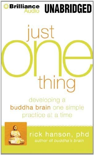 Just One Thing: Developing a Buddha Brain One Simple Practice at a Time 9781455863778
