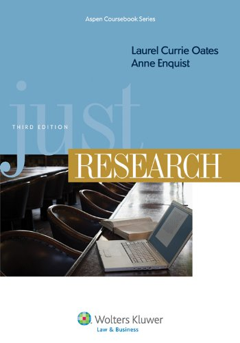 Just Research, Third Edition 9781454802945
