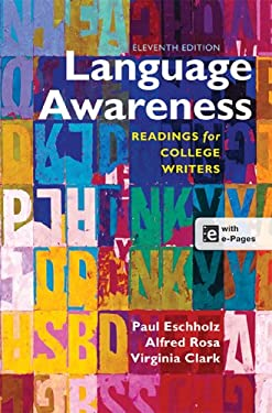 Language Awareness: Readings for College Writers 9781457610783