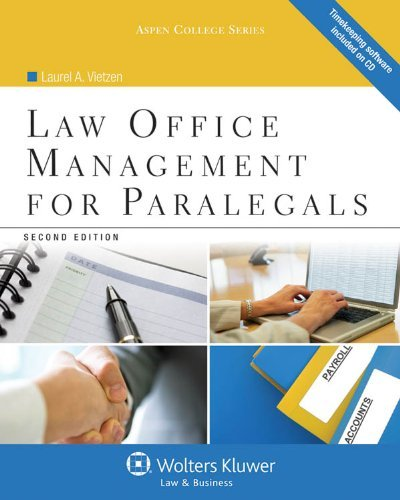 Law Office Management for Paralegals, Second Edition