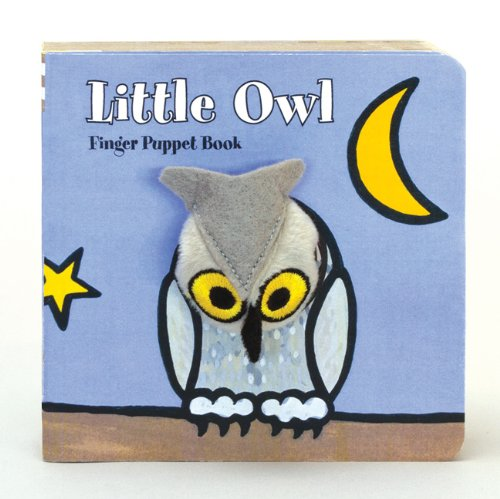 Little Owl Finger Puppet Book 9781452102214