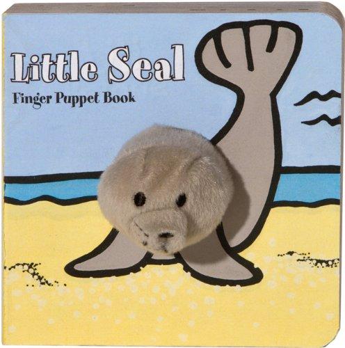 Little Seal Finger Puppet Book 9781452108124