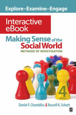 Making Sense of the Social World Interactive eBook: Methods of Investigation 9781452225371