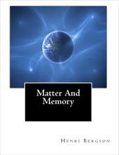 Matter and Memory 13254628