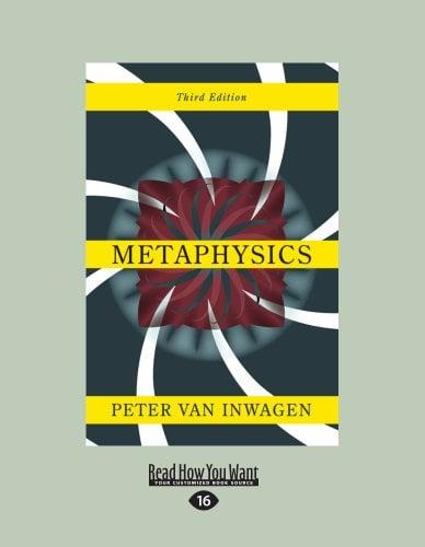 Metaphysics: Third Edition