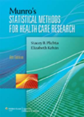 Munro's Statistical Methods for Health Care Research: 0 9781451115611