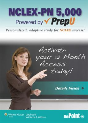 NCLEX-PN 5000 Powered by Prepu 9781451158335